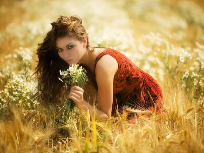 Какие цветы любят женщины