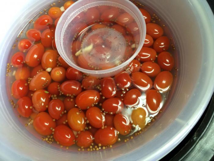 помидоры в бочке рецепт