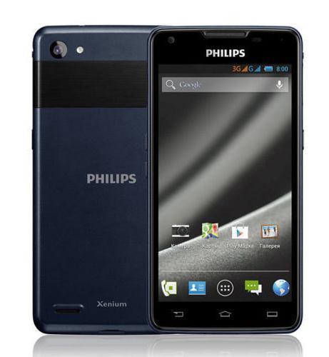Philips Xenium W6610 Navy