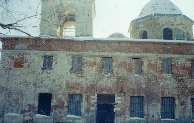 Москва храм Девяти мучеников Кизических
