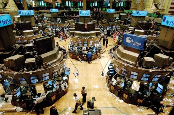 нью йоркская фондовая биржа время работы