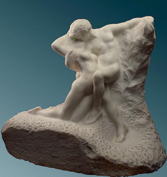 скульптура родена вечная весна