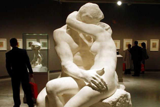 скульптуры родена в париже