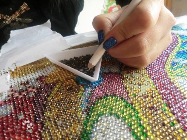 Алмазная вышивка основа своими руками