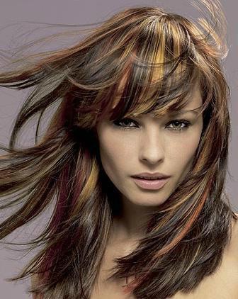 Как распределить волосы для двухцветного окрашивания волос