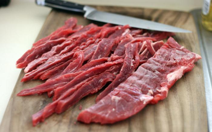 сыровяленое мясо рецепт