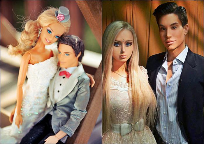 Барби и кен живые люди