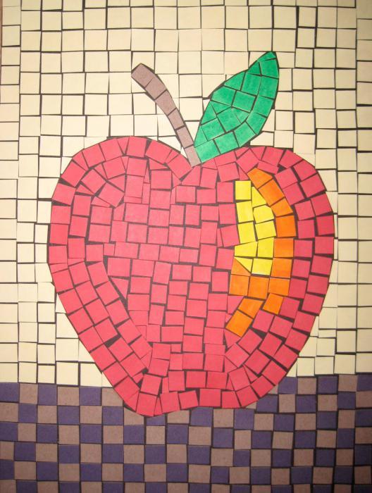 мозаика детская мозаика