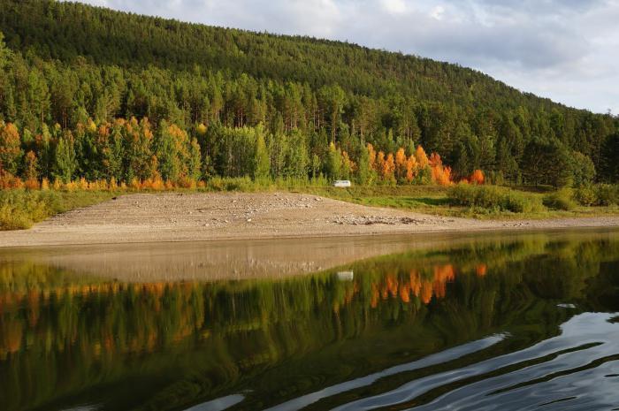 план описания реки Лена