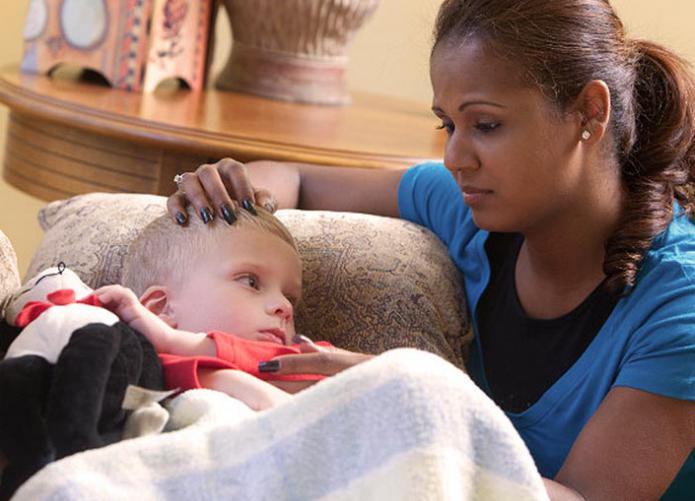 в детскому саду часто болеют дети