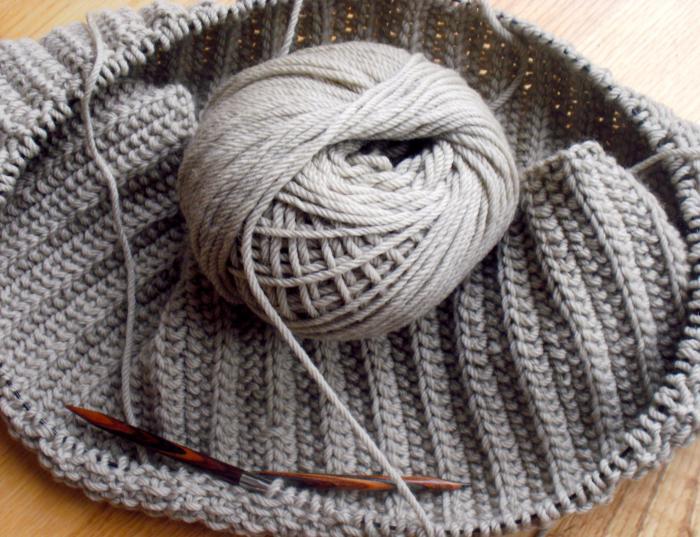 польская резинка схема вязания как вязать польскую резинку спицами