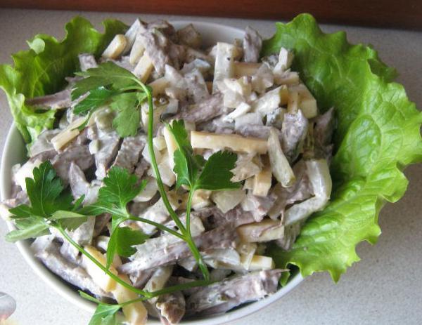 Говяжье сердце рецепты салаты с и рецептами