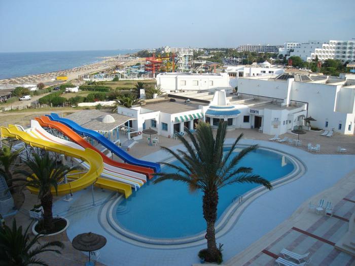 тунис отель омар хайям фото