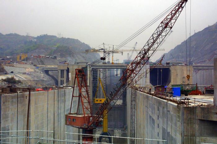 крупнейшие ГЭС в мире