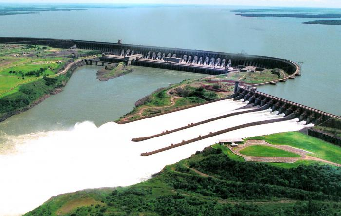десятка самых мощных ГЭС мира