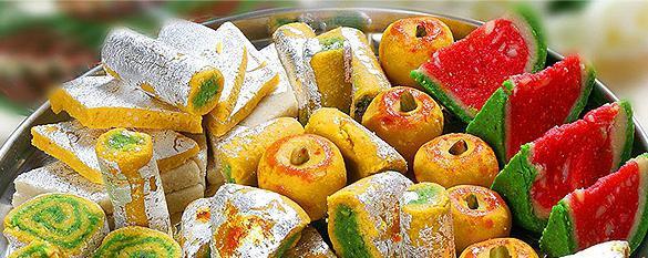 кухня индии сладости