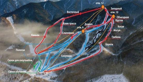 гора соболиная карта