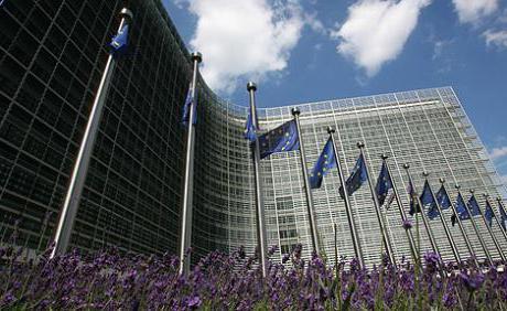 Европейская комиссия входит в структуру