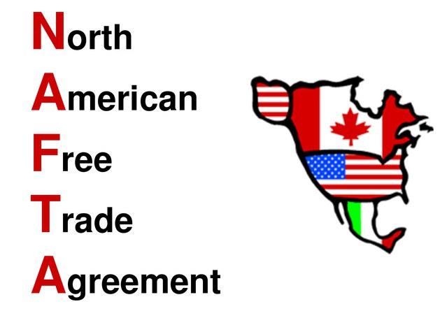 нафта североамериканская зона свободной торговли