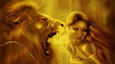 мужчина лев как себя вести
