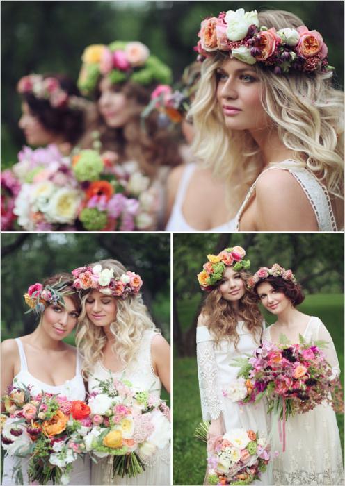 свадебные платья в стиле boho