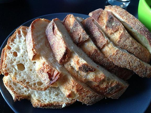 Хлеб на закваске в духовке подробное описание