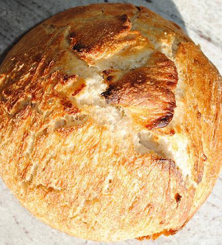 Приготовление хлеба на закваске в духовке