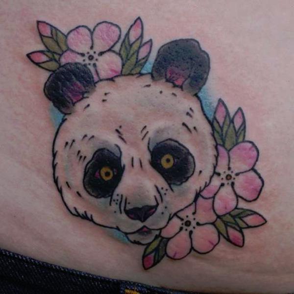 тату панда что означает