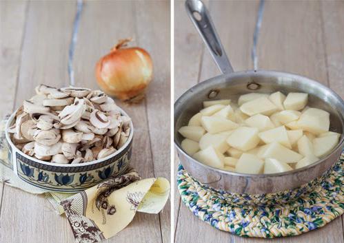 Рецепт постных зраз с грибами фото