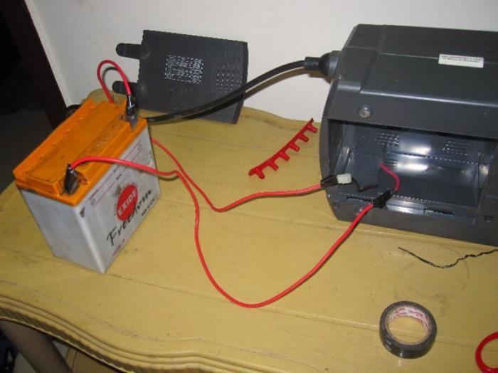 Заряжать аккумулятор дома