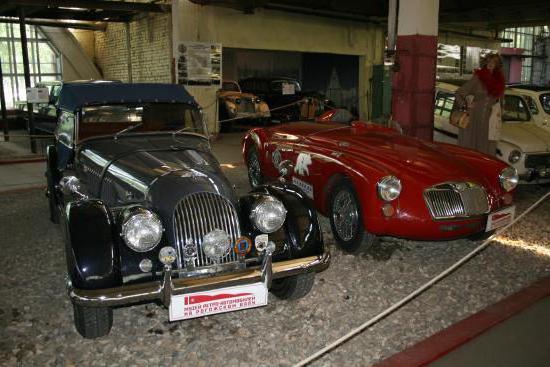 музей ретро автомобилей фрунзенская