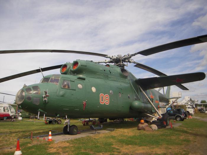 Ми-6 вертолет