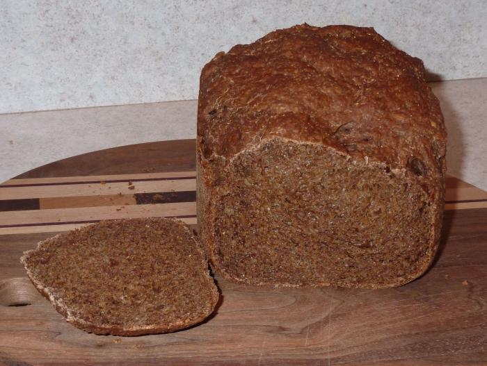 Ржаной хлеб: хлебопечка