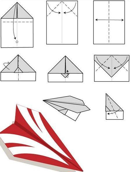 Как сделать из бумаги самолет который хорошо летает видео