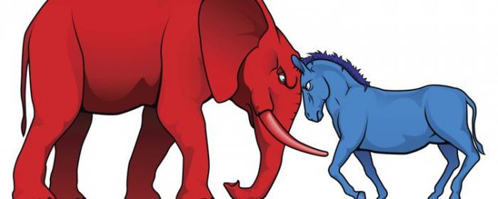 Почему в сша осел и слон