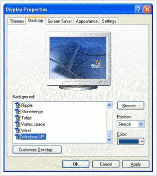 поменять картинку на рабочем столе windows 8