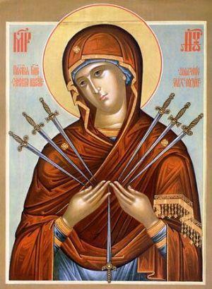 молитва иконе семистрельной когда молиться