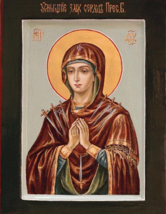 молитва матери божьей семистрельной всецарица