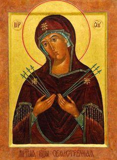 молитва матери божьей семистрельной