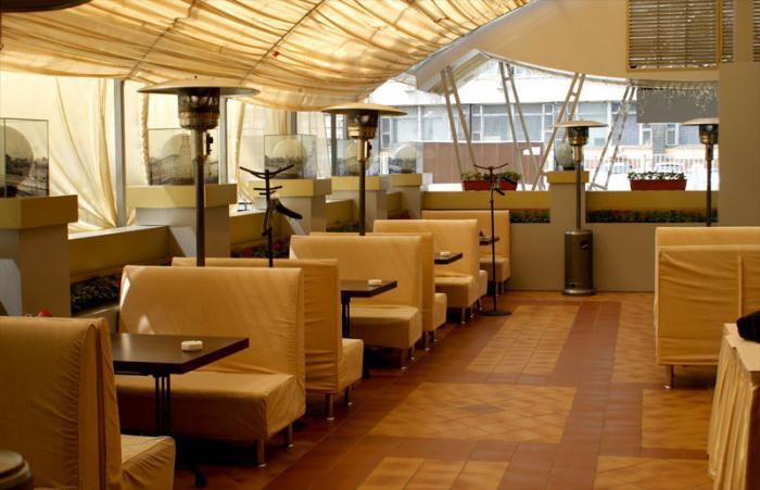 Ресторан с верандой в москве