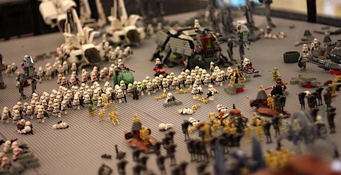 лего самоделки война