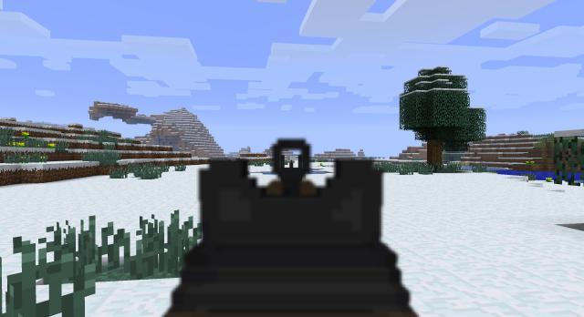 мультик майнкрафт война с оружием