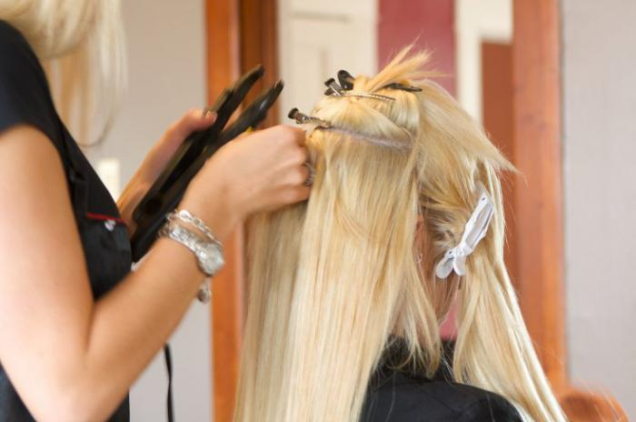 волосы после наращивания волос