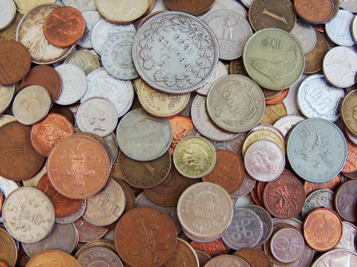 история денег разных стран