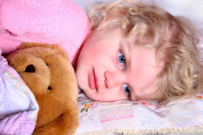 Почему ребенок спит с полуоткрытыми глазами