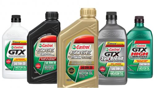масло кастрол технические характеристики