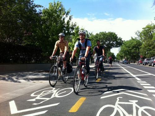 правила езды на велосипеде по перекрестку