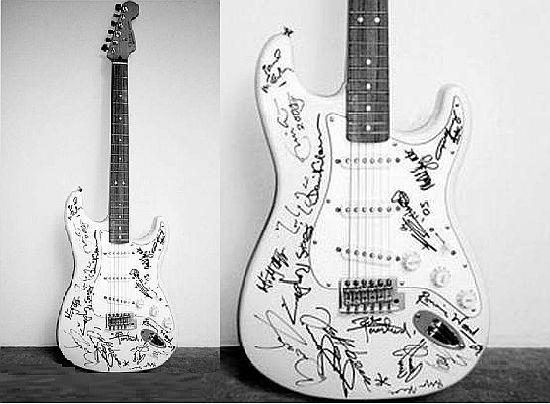 бас гитара фендер