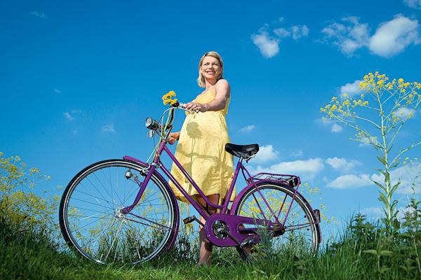 Можно беременным ездить на велосипеде