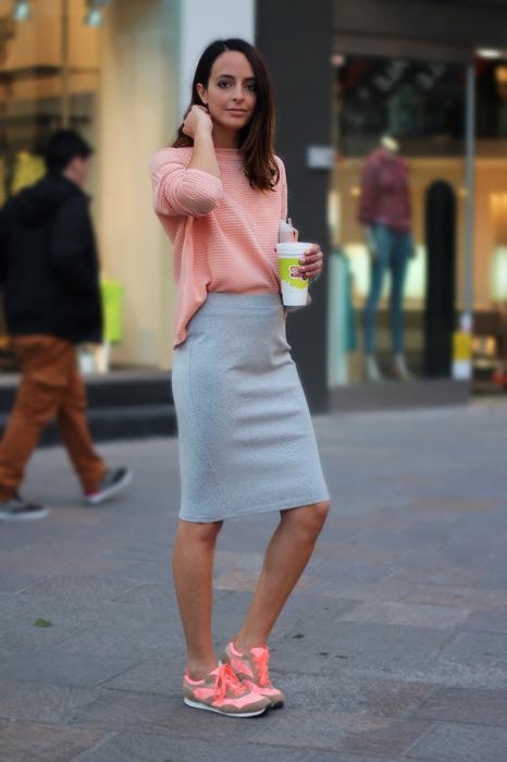 Спортивная юбка карандаш